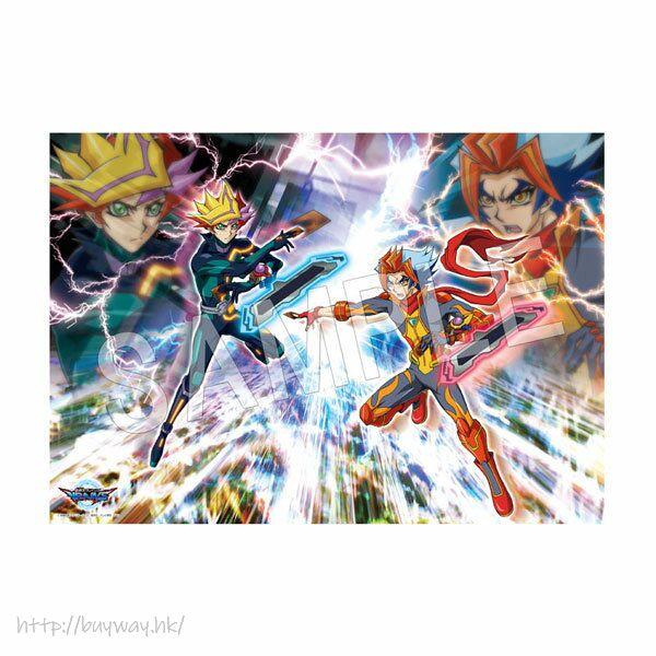 遊戲王 「Playmaker + Soulburner」VRAINS B2 布面海報 B2 Cloth Poster VRAINS【Yu-Gi-Oh!】