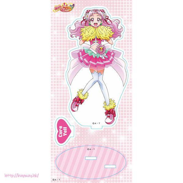 光之美少女系列 「野乃花」亞克力企牌 Acrylic Stand Cure Yell【Pretty Cure Series】