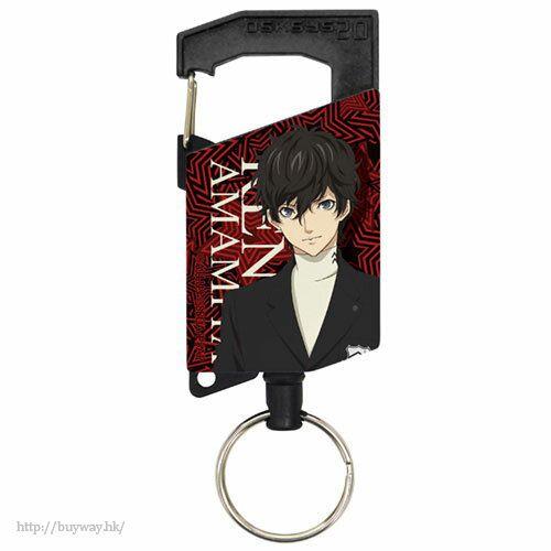 女神異聞錄系列 「雨宮蓮」伸縮匙扣 Ren Amamiya Full Color Reel Keychain【Persona Series】
