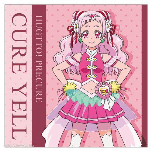 光之美少女系列 「野乃花」Cushion 套 HUGtto! PreCure Cure Yell Cushion Cover【Pretty Cure Series】