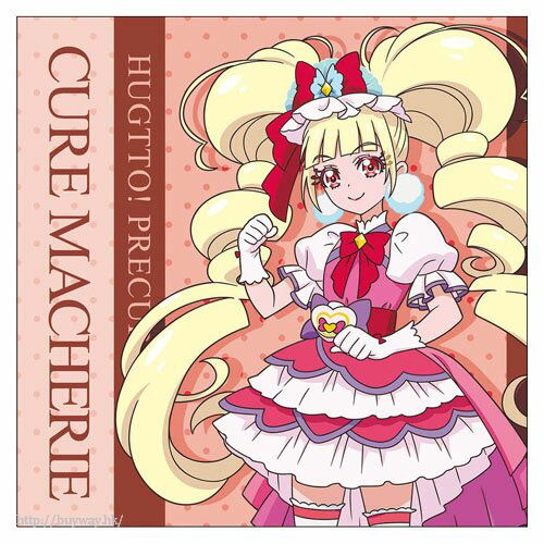 光之美少女系列 「愛崎惠美瑠」Cushion 套 HUGtto! PreCure Cure Macherie Cushion Cover【Pretty Cure Series】