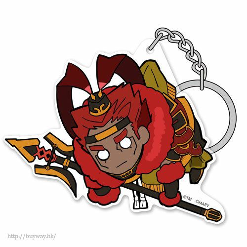 Fate系列 「Berserker (呂布奉先)」Fate/EXTELLA LINK 亞克力吊起匙扣 Fate/EXTELLA LINK Ryofu Housen Acrylic Pinched Keychain【Fate Series】