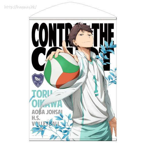排球少年!! 「及川徹」B2 掛布 Toru Oikawa B2 Wall Scroll【Haikyu!!】