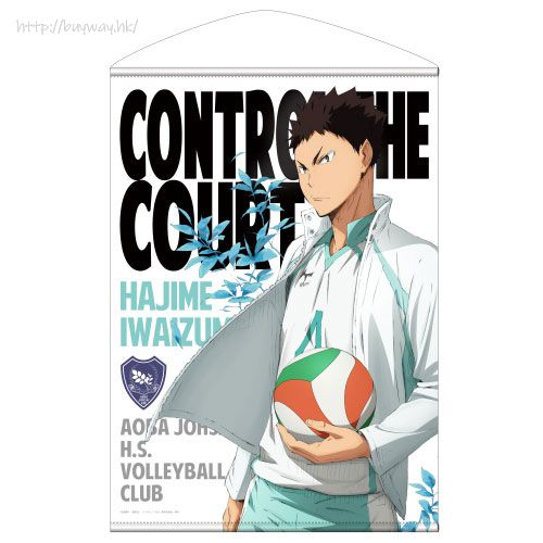 排球少年!! 「岩泉一」B2 掛布 Hajime Iwaizumi B2 Wall Scroll【Haikyu!!】