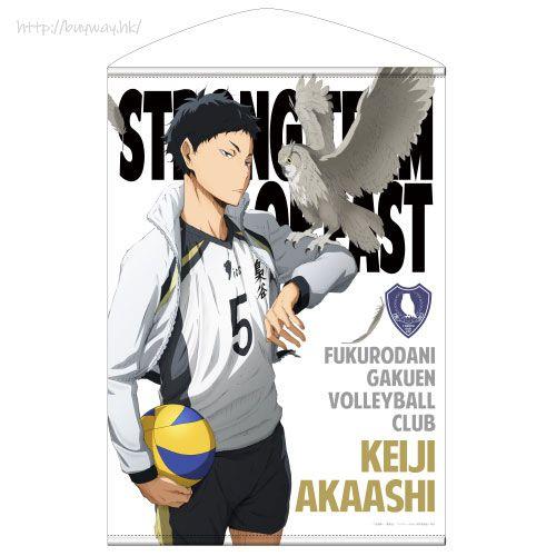 排球少年!! 「赤葦京治」B2 掛布 Keiji Akaashi B2 Wall Scroll【Haikyu!!】