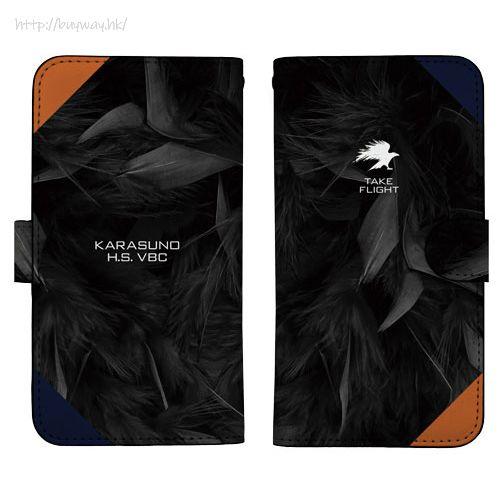 排球少年!! 「烏野高校」158mm 筆記本型手機套 (iPhone6plus/7plus/8plus) Karasuno High School Image Book-style Smartphone Case 158【Haikyu!!】