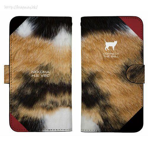 排球少年!! 「音駒高中」158mm 筆記本型手機套 (iPhone6plus/7plus/8plus) Nekoma High School Image Book-style Smartphone Case 158【Haikyu!!】