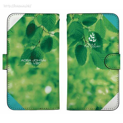 排球少年!! 「青葉城西高校」158mm 筆記本型手機套 (iPhone6plus/7plus/8plus) Aoba Johsai High School Image Book-style Smartphone Case 158【Haikyu!!】