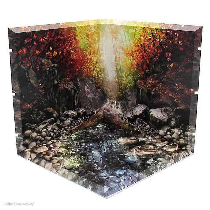 黏土人場景 Dioramansion150 清流 (秋) Dioramansion 150 Gentle Stream (Autumn)【Nendoroid Playset】