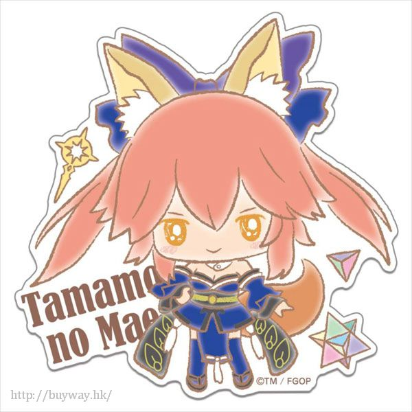 Fate 系列 「玉藻前 (Caster)」模切大貼紙 Design produced by Sanrio Design produced by Sanrio Big Diecut Sticker Caster/Tamamo no Mae【Fate Series】
