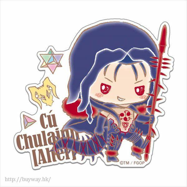 Fate 系列 「Berserker (Cu Chulainn)」(Alter) 模切大貼紙 Design produced by Sanrio Design produced by Sanrio Big Diecut Sticker Berserker/Cu Chulainn (Alter)【Fate Series】