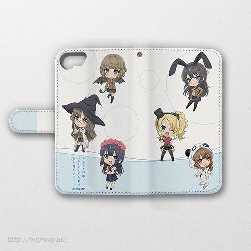 青春豬頭少年系列 SD Ver. iPhone6/6s/7/8 筆記本型手機套