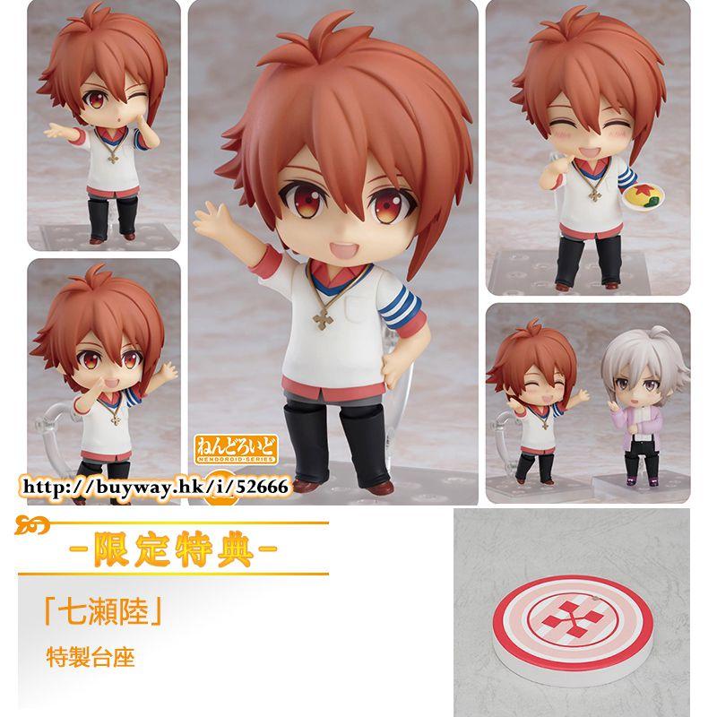 IDOLiSH7 「七瀬陸」Q版 黏土人 (限定特典︰特製台座) Nendoroid Nanase Riku ONLINESHOP Limited【IDOLiSH7】