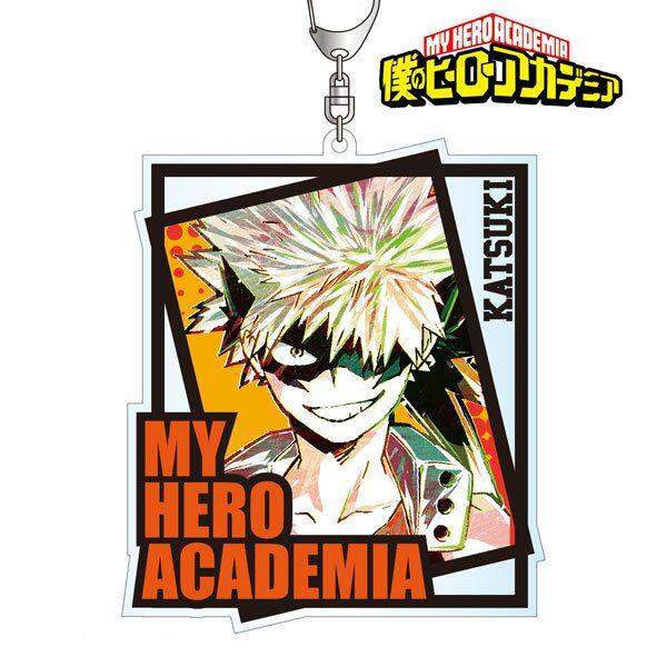 我的英雄學院 「爆豪勝己」Ani-Art BIG 亞克力匙扣 Ani-Art Big Acrylic Key Chain Bakugo Katsuki【My Hero Academia】
