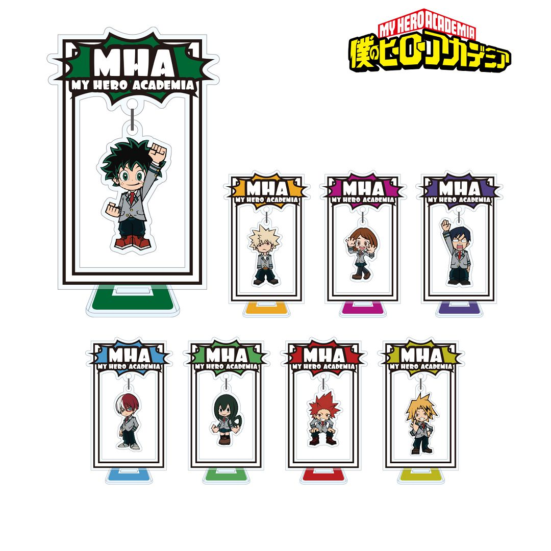 我的英雄學院 搖呀搖呀 人物擺動企牌 (8 個入) Yurayura Acrylic Stand (8 Pieces)【My Hero Academia】