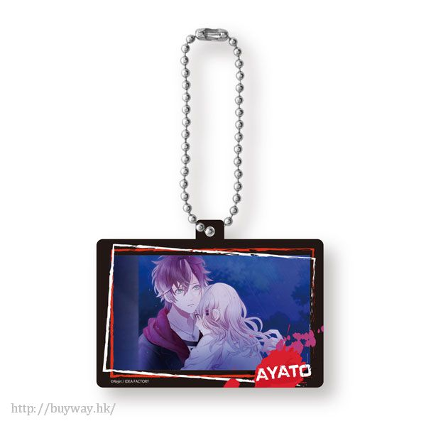魔鬼戀人 「逆卷綾人」Pop Out 亞克力匙扣 (2 個入) Pop Out Acrylic Collection Sakamaki Ayato【Diabolik Lovers】
