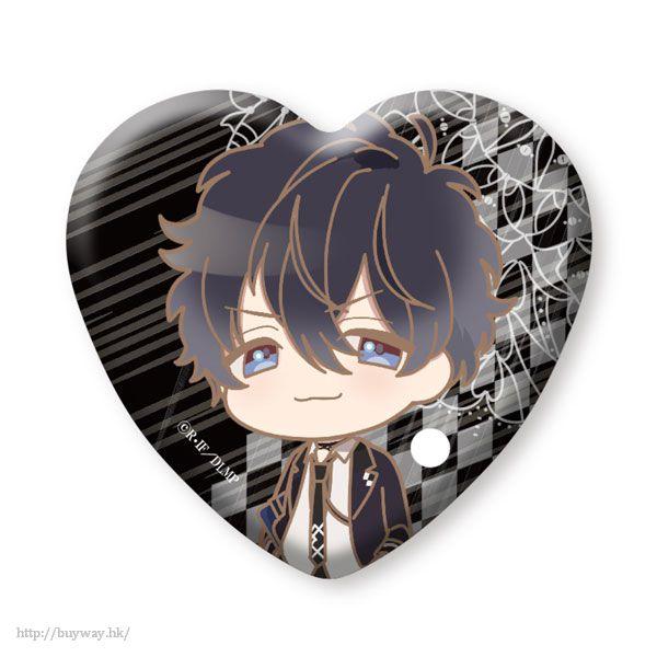 魔鬼戀人 「無神琉輝」心形徽章 (3 個入) Heart Can Badge Mukami Ruki (3 Pieces)【Diabolik Lovers】
