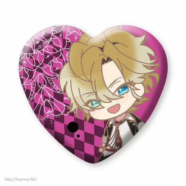 魔鬼戀人 「無神皓」心形徽章 (3 個入) Heart Can Badge Mukami Kou (3 Pieces)【Diabolik Lovers】