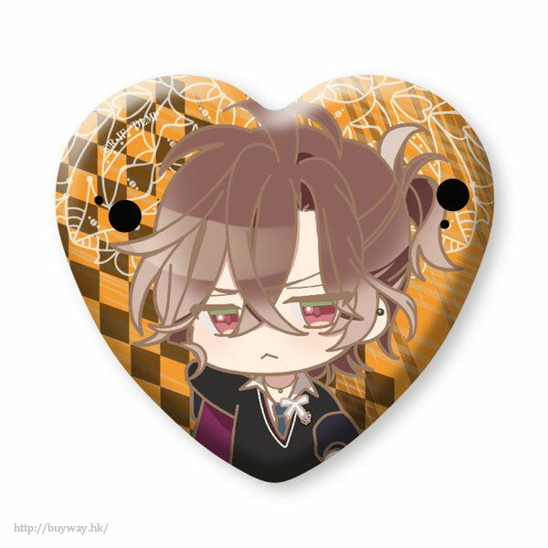 魔鬼戀人 「無神悠真」心形徽章 (3 個入) Heart Can Badge Mukami Yuma (3 Pieces)【Diabolik Lovers】