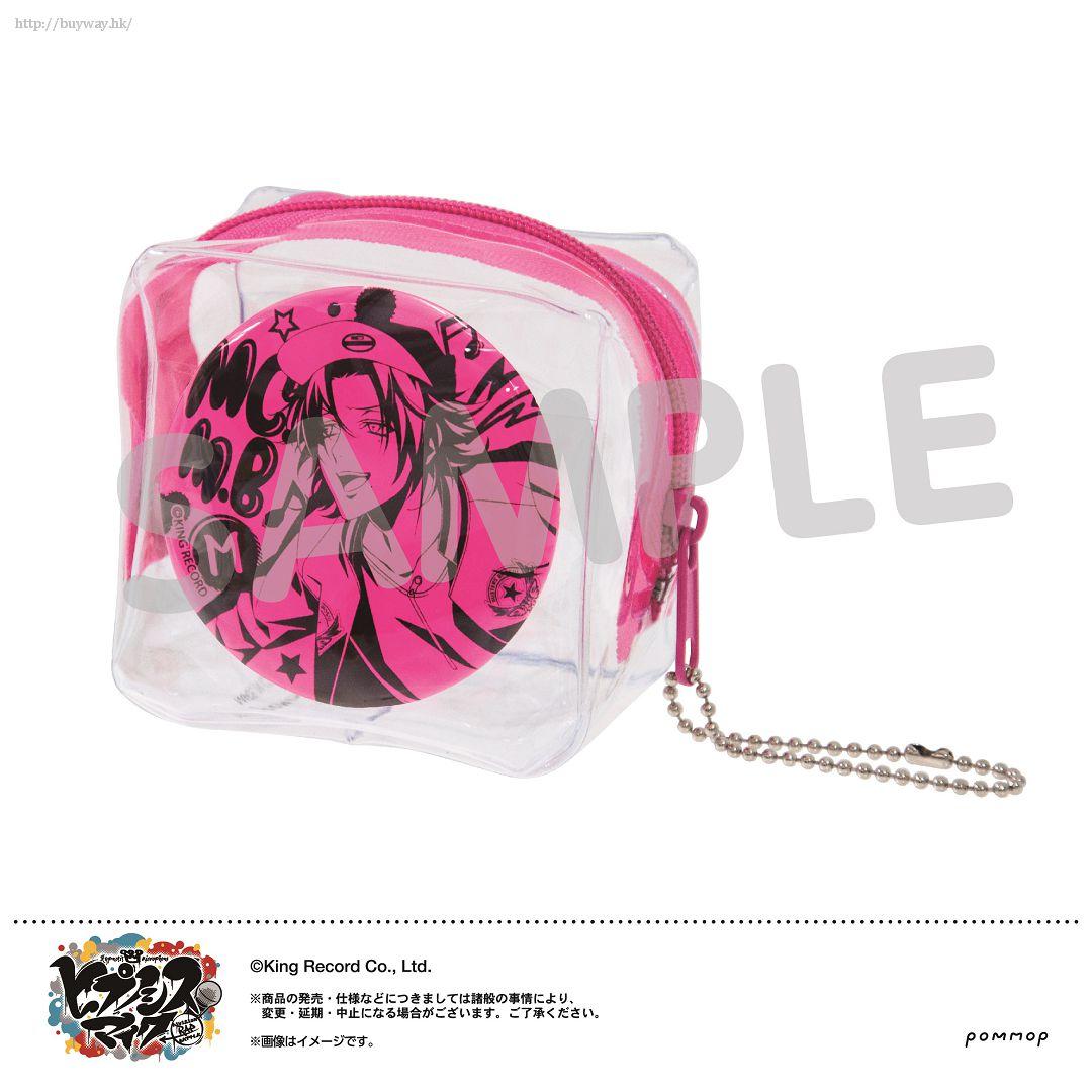 Hypnosismic 「山田二郎」徽章 + 收納小袋 Mise Cube -Neon Ver.- B Yamada Jiro【Hypnosismic】