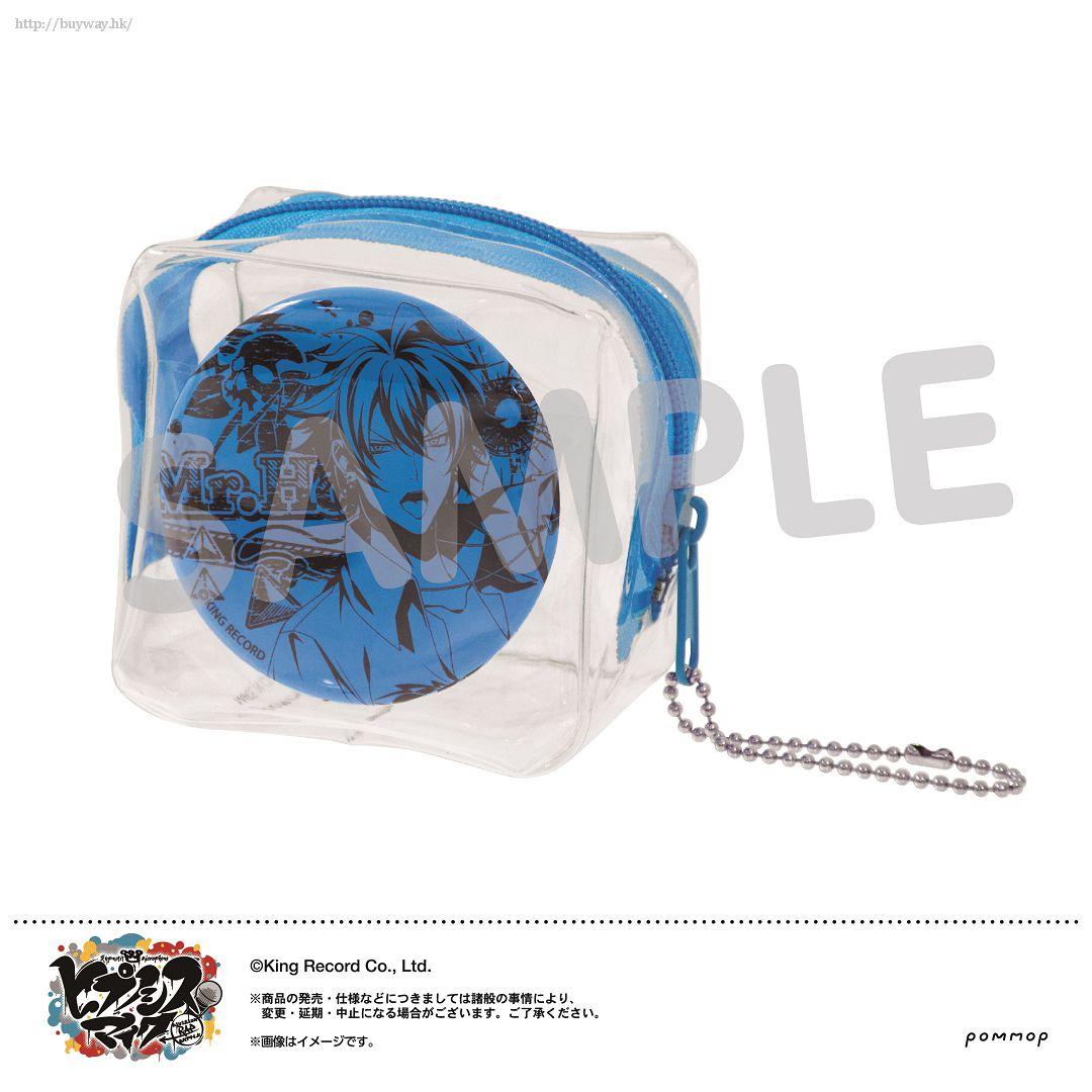 Hypnosismic 「碧棺左馬刻」徽章 + 收納小袋 Mise Cube -Neon Ver.- D Aohitsugi Samatoki【Hypnosismic】