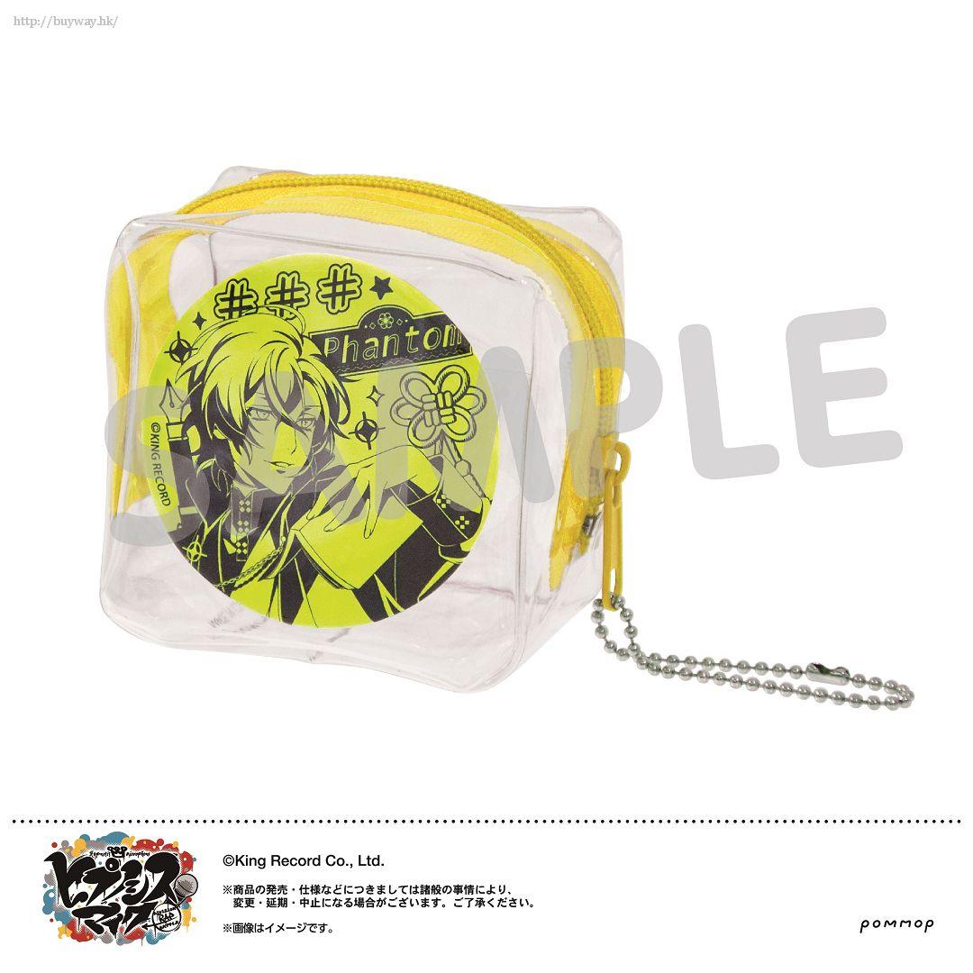 Hypnosismic 「夢野幻太郎」徽章 + 收納小袋 Mise Cube -Neon Ver.- K Yumeno Gentaro【Hypnosismic】