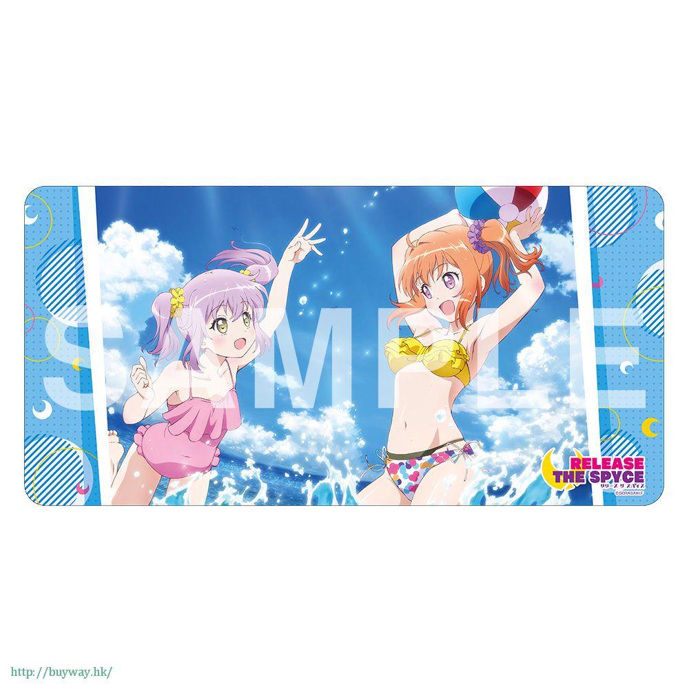 月影特工 「八千代命 + 相模楓」通用遊戲墊 Rubber Play Mat Collection【Release The Spyce】