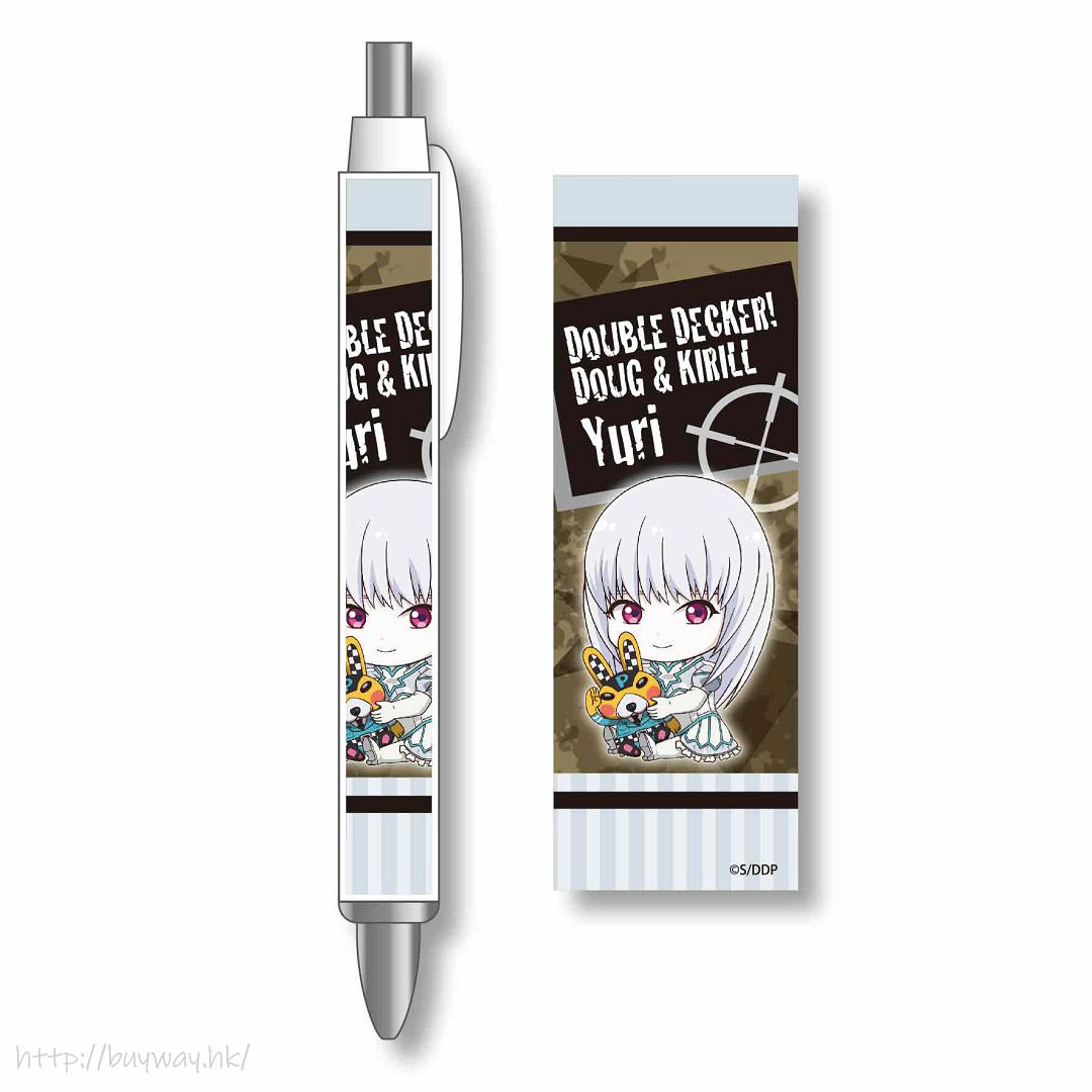 DOUBLE DECKER! ダグ&キリル 「Yuri」擁抱最愛 原子筆 GyuGyutto Ballpoint Pen Yuri【DOUBLE DECKER! Doug & Kirill】