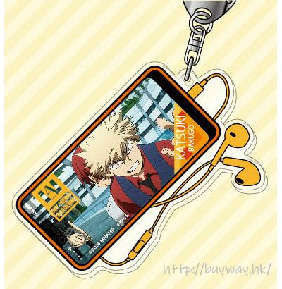 我的英雄學院 「爆豪勝己」2人の英雄 亞克力匙扣 Acrylic Key Chain 02 Bakugo Katsuki AK【My Hero Academia】