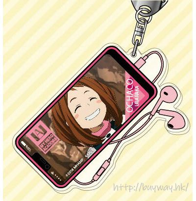 我的英雄學院 「麗日御茶子」2人の英雄 亞克力匙扣 Acrylic Key Chain 03 Uraraka Ochako AK【My Hero Academia】