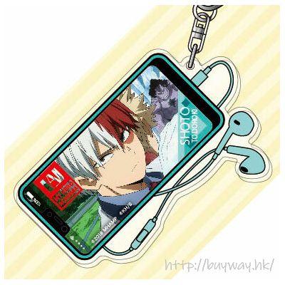 我的英雄學院 「轟焦凍」2人の英雄 亞克力匙扣 Acrylic Key Chain 05 Todoroki Shoto AK【My Hero Academia】