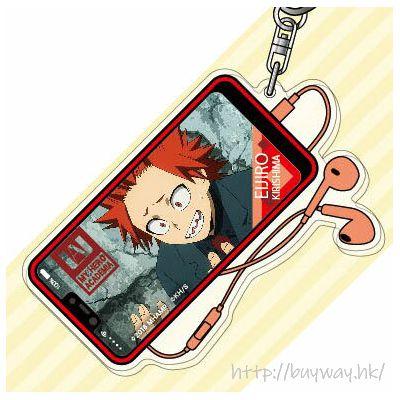 我的英雄學院 「切島銳兒郎」2人の英雄 亞克力匙扣 Acrylic Key Chain 06 Kirishima Eijiro AK【My Hero Academia】