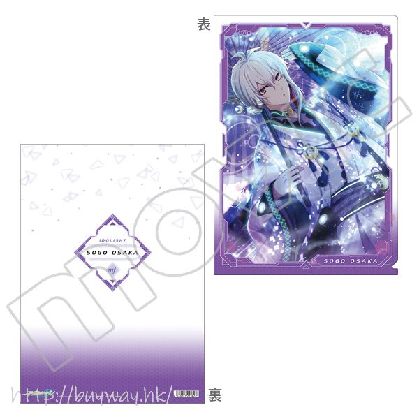 IDOLiSH7 「逢坂壯五」Cyber Techno 服裝 文件套 Clear File Cyber Techno Osaka Sogo【IDOLiSH7】