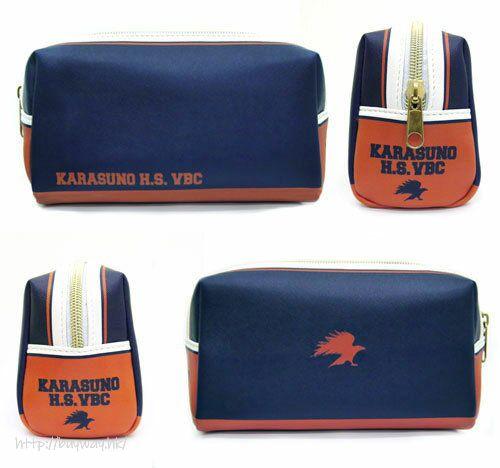 排球少年!! 「烏野高中排球部」多用途收納袋 Karasuno High School Volleyball Club Multipurpose Pouch【Haikyu!!】