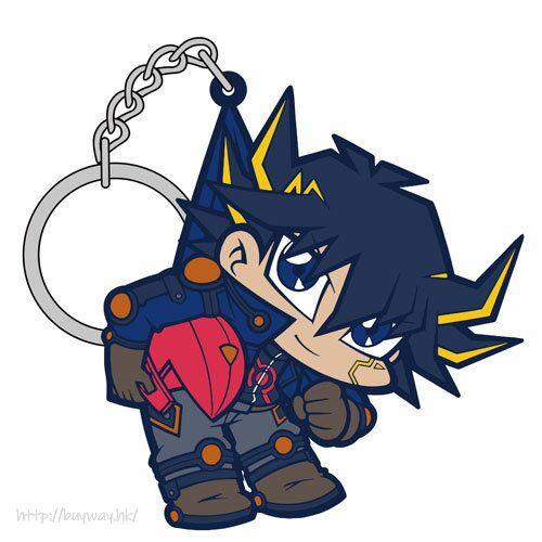 遊戲王 「不動遊星」騎服 Ver. 吊起匙扣 Yusei Fudo Pinched Keychain Riding Suit Ver.【Yu-Gi-Oh!】