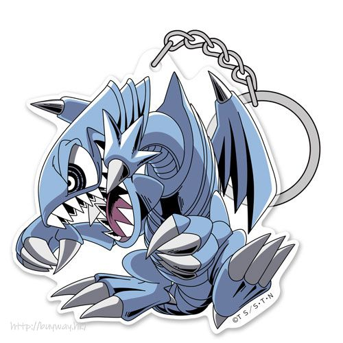 遊戲王 「青眼卡通龍」亞克力匙扣 Blue Eyes Toon Dragon Acrylic Keychain【Yu-Gi-Oh!】