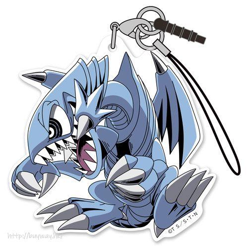 遊戲王 「青眼卡通龍」亞克力掛飾 Blue Eyes Toon Dragon Acrylic Strap【Yu-Gi-Oh!】
