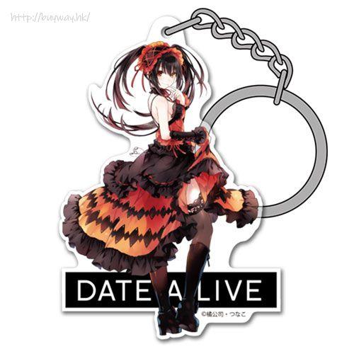 約會大作戰 「時崎狂三」原作 亞克力匙扣 Original Ver. Kurumi Tokisaki Acrylic Keychain【Date A Live】