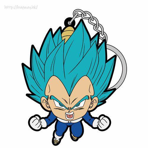龍珠 「比達」吊起匙扣 Vegeta Blue Pinched Keychain【Dragon Ball】