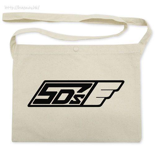 遊戲王 「5D's」米白 袋子 5D's Team 5D's Logo Musette Bag /NATURAL【Yu-Gi-Oh!】