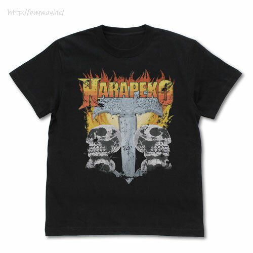 偶像大師 百萬人演唱會! (加大)「橫山奈緒」のHARAPEKO Renewal Ver. 黑色 T-Shirt Nao Yokoyama's HARAPEKO T-Shirt Renewal Ver./BLACK-XL【The Idolm@ster Million Live!】
