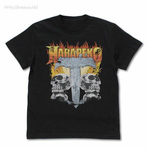 偶像大師 百萬人演唱會! (大碼)「橫山奈緒」のHARAPEKO Renewal Ver. 黑色 T-Shirt Nao Yokoyama's HARAPEKO T-Shirt Renewal Ver./BLACK-L【The Idolm@ster Million Live!】