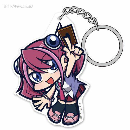 遊戲王 「柊柚子」亞克力吊起匙扣 Yuzu Hiiragi Acrylic Pinched Keychain【Yu-Gi-Oh!】