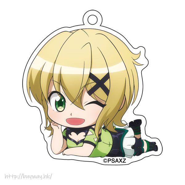 戰姬絕唱SYMPHOGEAR 「曉切歌」躺下亞克力匙扣 Gororin Acrylic Key Chain 6 Akatsuki Kirika【Symphogear】