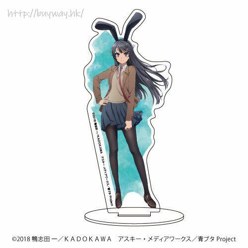 青春豬頭少年系列 「櫻島麻衣」亞克力企牌 Chara Acrylic Figure 01 Sakurajima Mai【Seishun Buta Yaro】