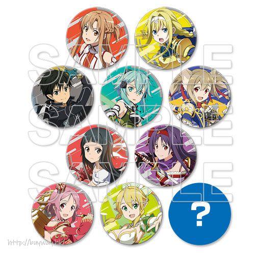 刀劍神域系列 PVC 杯墊 (10 個入) Game Series PVC Coaster (10 Pieces)【Sword Art Online Series】