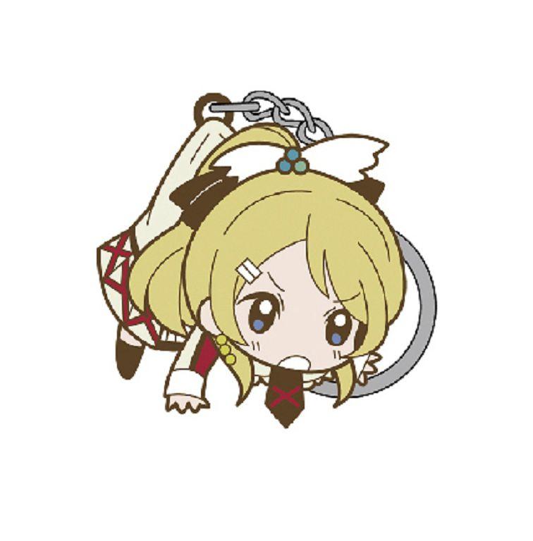 LoveLive! 明星學生妹 (3 枚入)「絢瀨繪里」這就是我們的奇蹟 Ver. 匙扣 (3 Pieces) Tsumamare Key Chain Sore wa Bokutachi no Kiseki Ver. Ayase Eli【Love Live! School Idol Project】