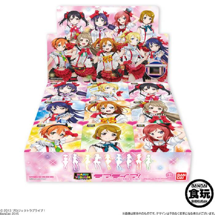 LoveLive! 明星學生妹 手提電話 3D 演唱會投影盒 (1 套 9 款) HakoVision (9 Pieces)【Love Live! School Idol Project】