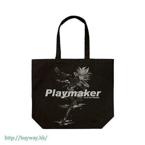 遊戲王 「藤木遊作」黑色 側揹袋 Playmaker Large Tote Bag / Black【Yu-Gi-Oh!】