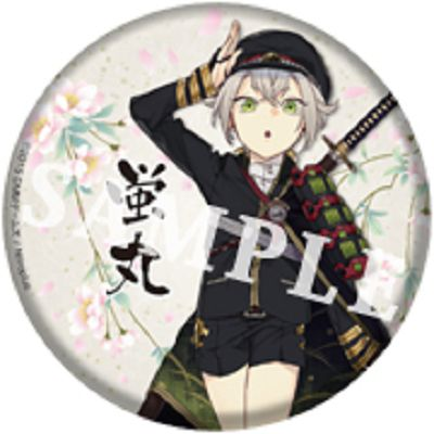 「螢丸」76mm 大徽章《刀劍亂舞-ONLINE-》 BIG Can Badge Hotarumaru【Touken Ranbu -ONLINE-】